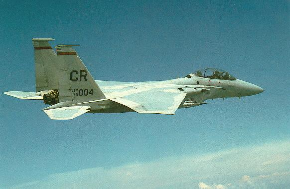 The F-15 B was formerly known as the TF-15 A.