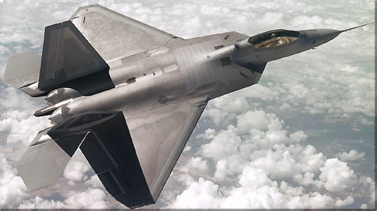 Boeing began assembly of the left-hand wing for the world's first F-22 air dominance fighter on January 17, 1996.